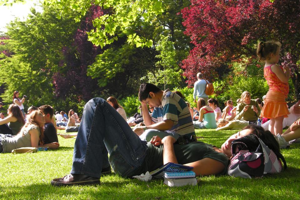 Parque en Dublín