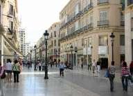 Rue de la ville de Malaga