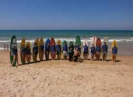 Занятия серфингом