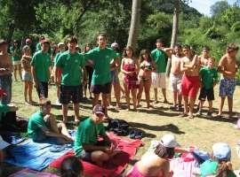 Actividades en el campamentos en leon