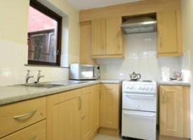 Residencia en Belfast cocina