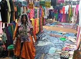 Mercadillo en Goa
