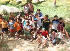 Campamento de verano en Cazorla
