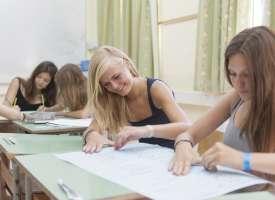 Estudiantes en Marsascala