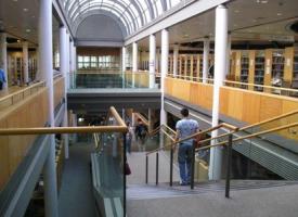 Interior del campus en Dublín