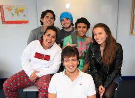 Language4you: estudiantes en Nottingham