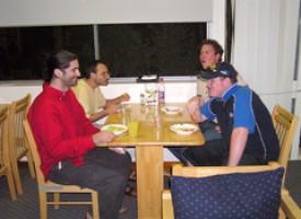 Comedor en el Hostal