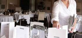 Trabajar como camarero